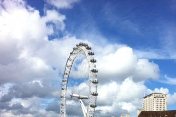 The London Eye totaalbeeld