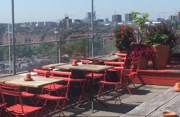 Restaurant Canvas Amsterdam